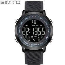 GIMTO Marque Hommes Sport Montre Numérique LED Chronomètre Étanche Horloge de Course Choc Militaire Montres Podomètre Smartwatch Relogios
