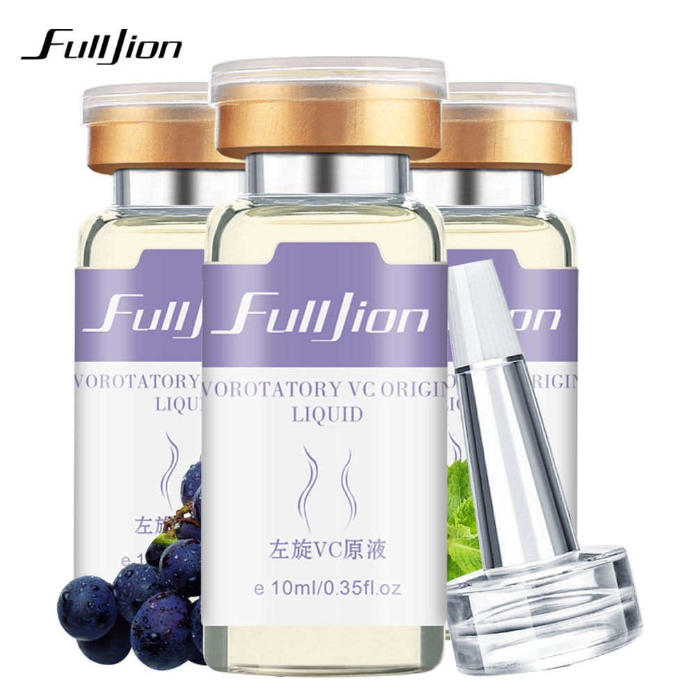 Fulljion Vitamin C Hyaluronic Acid Pro Skin Whitening Levorotatory  VC  Original Liquid Anti Acne Essence Skin Care Cream