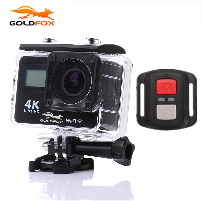 4 K WiFi macchina fotografica di Azione 150D Grandangolare Dual Screen 2.0 LCD HD DV 1080 P Wifi Sport Fotocamera Go impermeabile Helmet Cam Pro videocamera