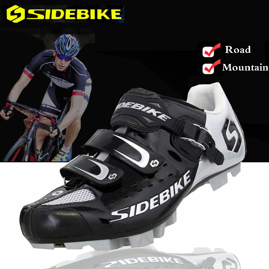 Sidebike Cycling Shoes Mountain Black Men Women Bicycle Racing shoes Self-Locking Bike MTB Shoes sapatilha zapatillas ciclismo все цены