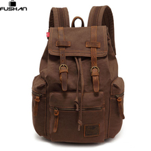 new Best Selling Cathylin unisex trend fashion Canvas font b backpacks b font men s Multifunction