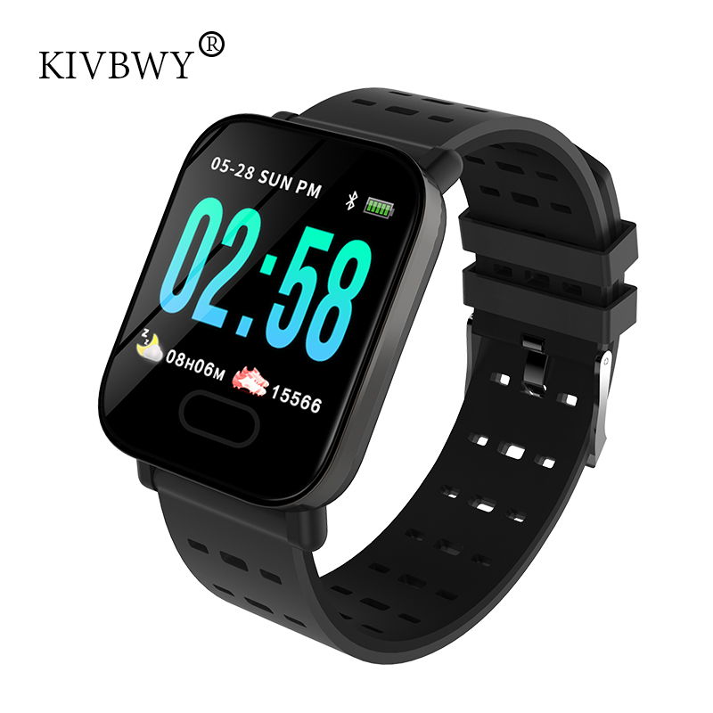 KIVBWY Smart Watch Heart Rate Monitor Sport Fitness Tracker Sleep Monitor Waterproof Sport Watch Band for