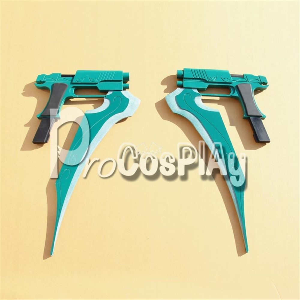 RWBY Lie Ren Weapon Storm Flower Gun Prop mp001237