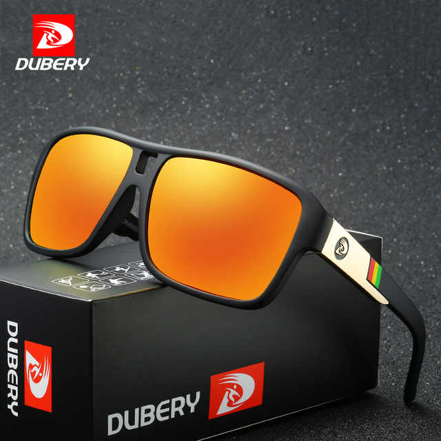 008f3b2c87 DUBERY Brand Design Polarized Sunglasses Men s Glasses Driver Shades Male  Sun Glasses For Men Original Oculos
