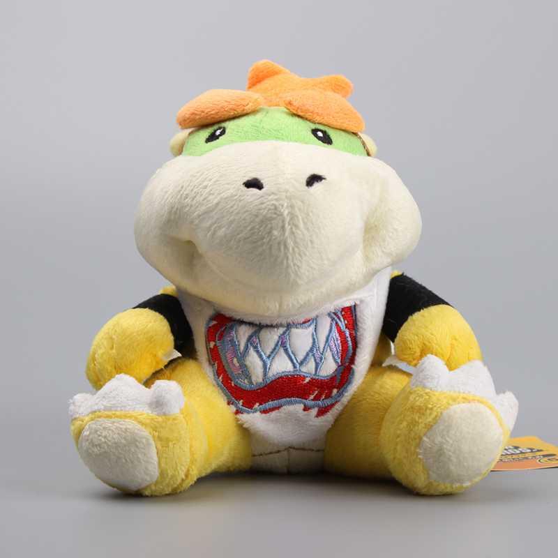 High Quality Super Mario Koopa Bowser JR Cute Stuffed Dolls Plush Toys Children Gift 7