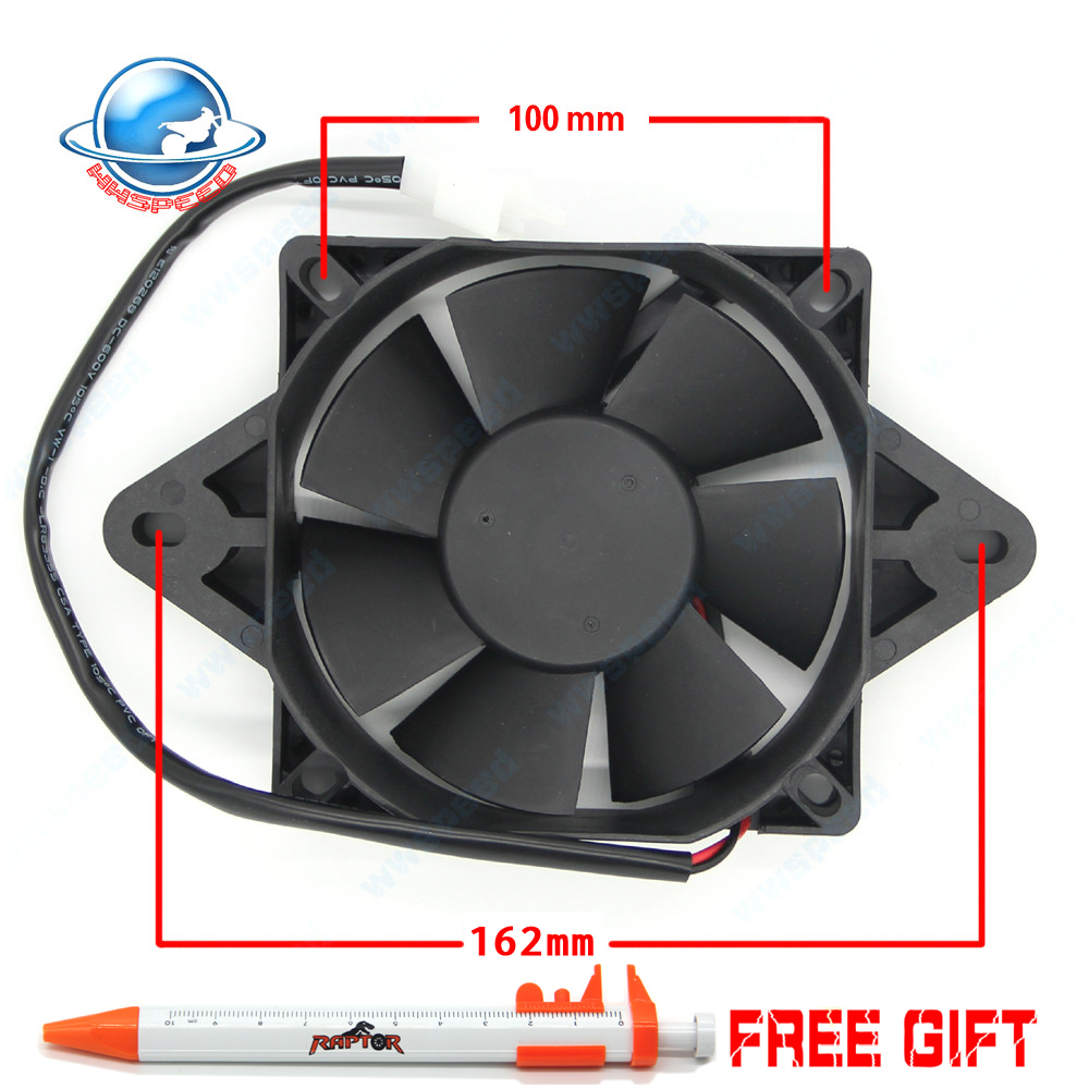 Electric Radiator Cooling Fan For Chinese 200cc 250cc Quad ATV Go Kart Dirt Bike