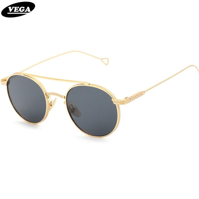 Vintage kleine quadratische Punk Sonnenbrille Metall Rechteck Sonnenbrille