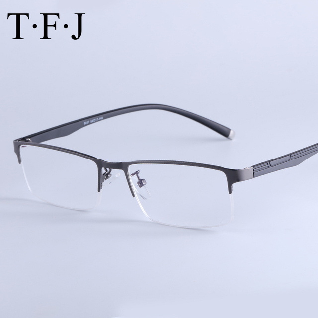 77d8f4563 Mens Bifocal Reading Glasses Men Progressive Multifocal Magnifying  Eyeglasses Adjustable Vision Diopter Glasses 1 5 Hyperopia