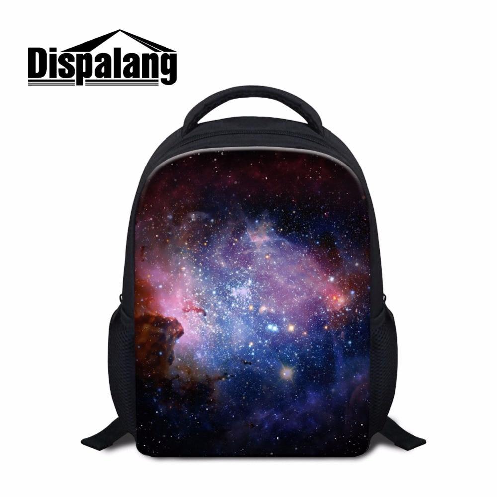 Dispalang Вселенная Galaxia звезды дети школьный для детского сада Модная молодежная пакеты для дошкольного Детские Bookbag сумка
