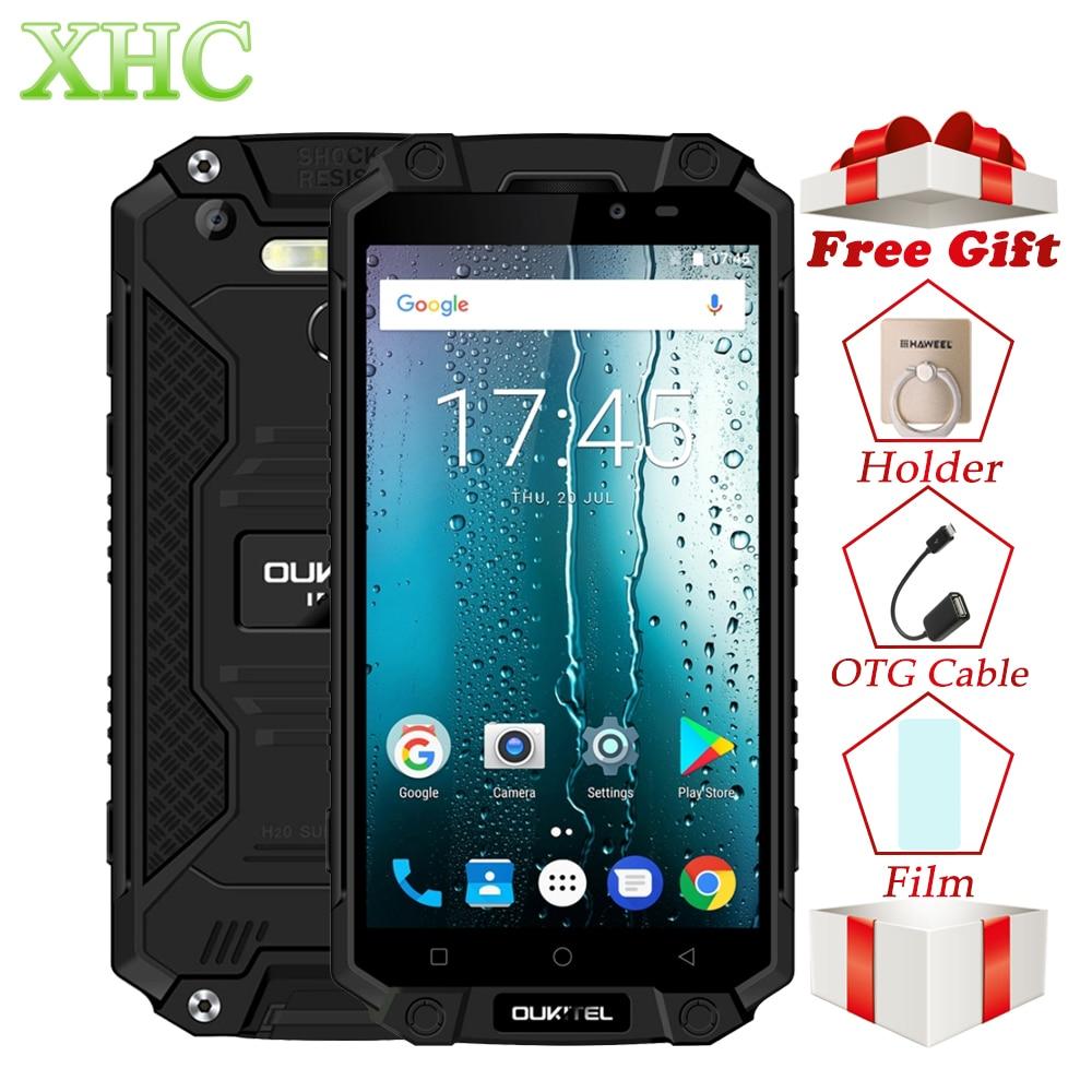 IP68 Oukitel K10000 Max Waterproof Shockproof Smartphone MTK6753 3G+32G 16MP 10000mAh Battery 5.5 FHD Dual SIM 4G Mobile Phones