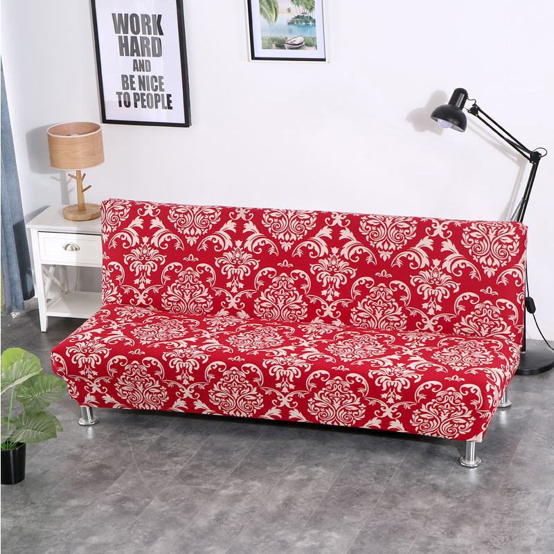 Plaid Armless Sofa Cover stretch case for sofa covers for ...