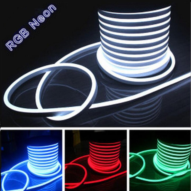 100m lot flex led neon light 80leds m ac110v 220v 240v. Black Bedroom Furniture Sets. Home Design Ideas
