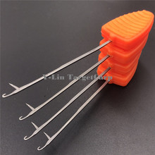 4pcs Carp fishing chod hair rig making tools splicing needles boilie drill carp baiting tools accessories terminal tackle