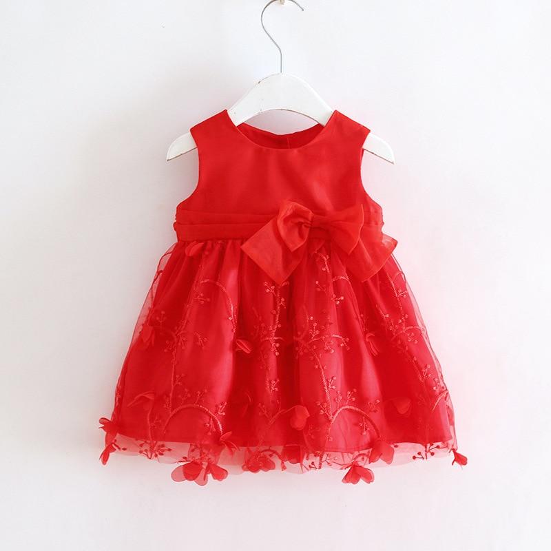 JMS Kasenbely suve beebitüdruk armas printsess kleit varrukateta - Beebiriided - Foto 4