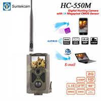 Suntekcam HC-550M de chasse 2G MMS caméra de sentier Photo vidéo de la faune 16MP caméras de chasse suivi de la caméra