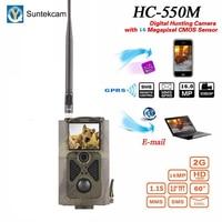 Suntekcam Hunting HC 550M 2G MMS Trail Camera Wildlife Video Photo 16MP Hunting Cameras Cam Tracking Scouting Game Camera Trap