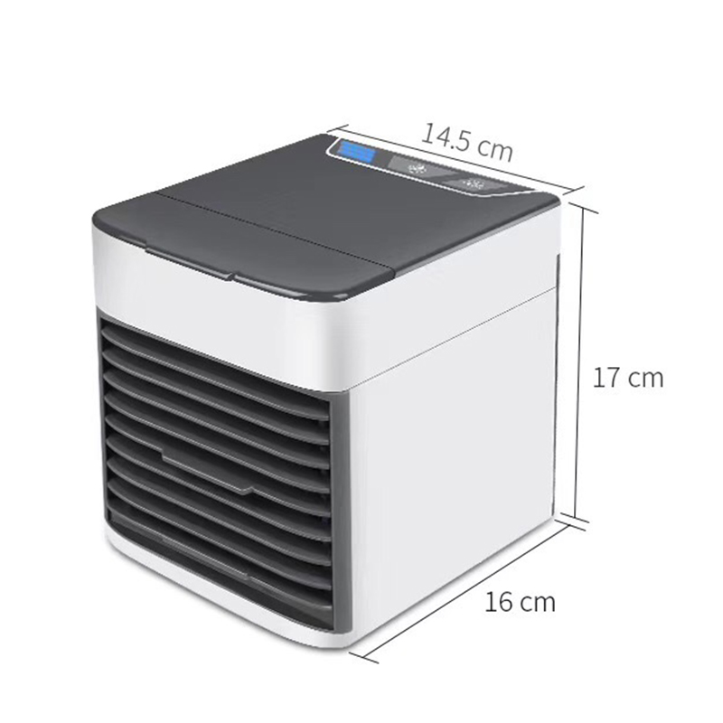 New Generation 2019 Desktop Air Cooler Fan USB Air Personal Space Cooler LED Portable Air Conditioner