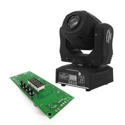 Płyta główna LED Spot 60W oświetlenie wzór obrót płyta główna światła sceniczne część zamienna profesjonalne akcesoria DMX 9/11 kanał