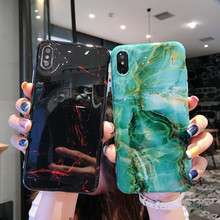 Marble Silicon Phone Case For iPhone 7 8 Plus XS Max XR Cases For iPhone X 8 7 6 6S Plus Soft TPU Full Cover Capa Coque Fundas цена и фото