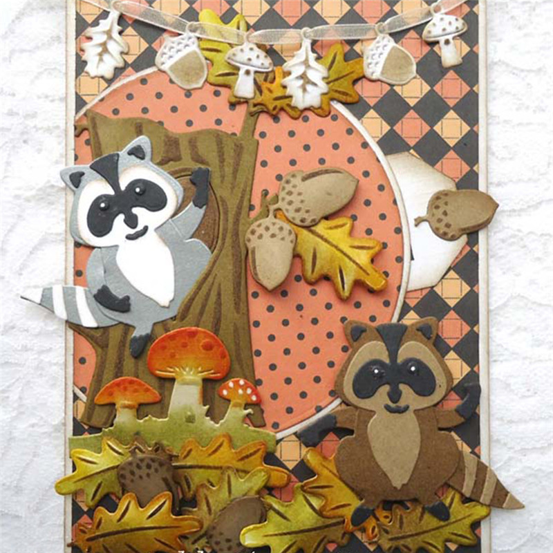 Card Craft Embellishment Bird Birthday Scrapbook Nature Owl Metal Die Cutter