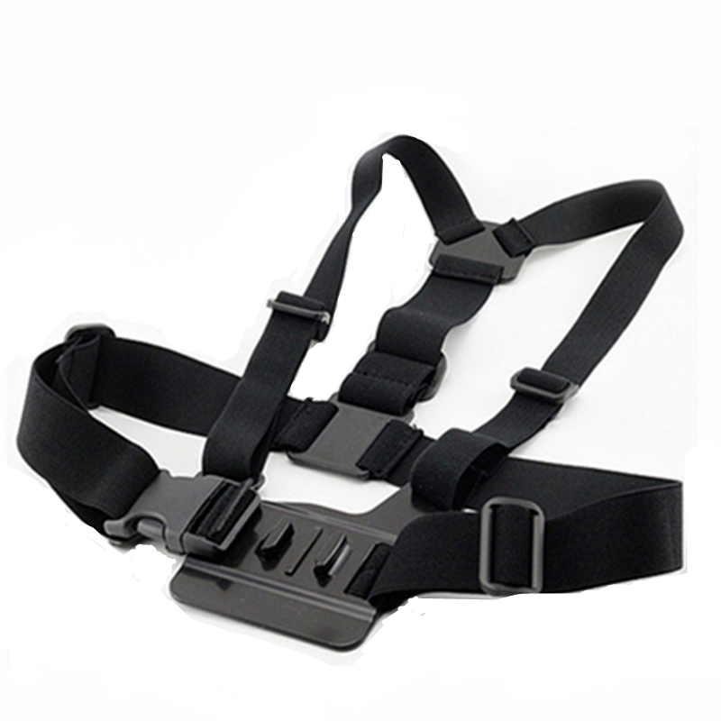 Orbmart Adjustable Chest Body Harness Strap Belt Mount For Go pro HD Hero 1 2 3 4 Xiaomi Yi SJCAM SJ4000 SJ5000 SJ6000 WIFI 4K