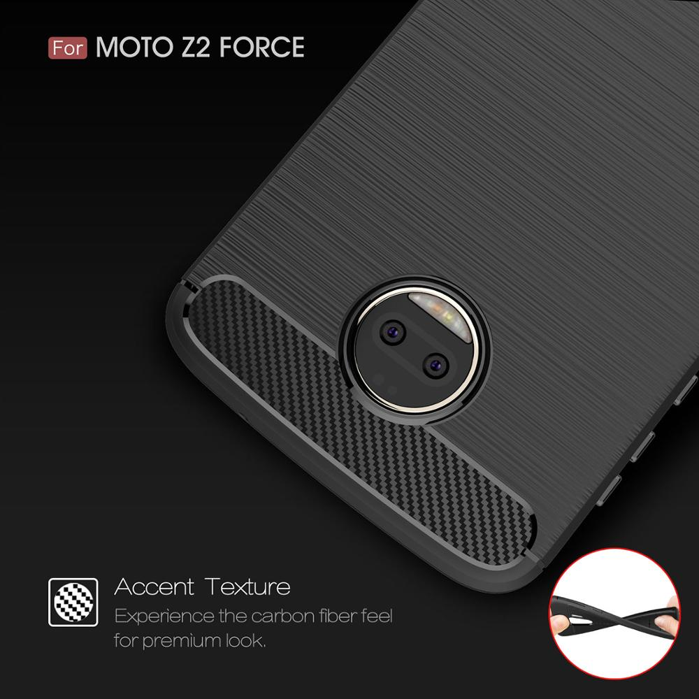 Coque Cover 5.5For Moto Z2 Force Case For Motorola Moto Z2 Z Z3 Z4 Force Play 2nd Gen Droid Xt1710 Phone Back Coque Cover Case image