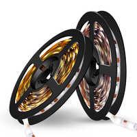 Tira de luz LED 5 V luces de cinta Tira LED USB TV iluminación de fondo decoración de escritorio LED lámpara Flexible gabinete i