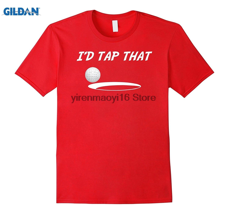 GILDAN 2018 Funny T-Shirt Id Tap That Golfer Golfing Tee