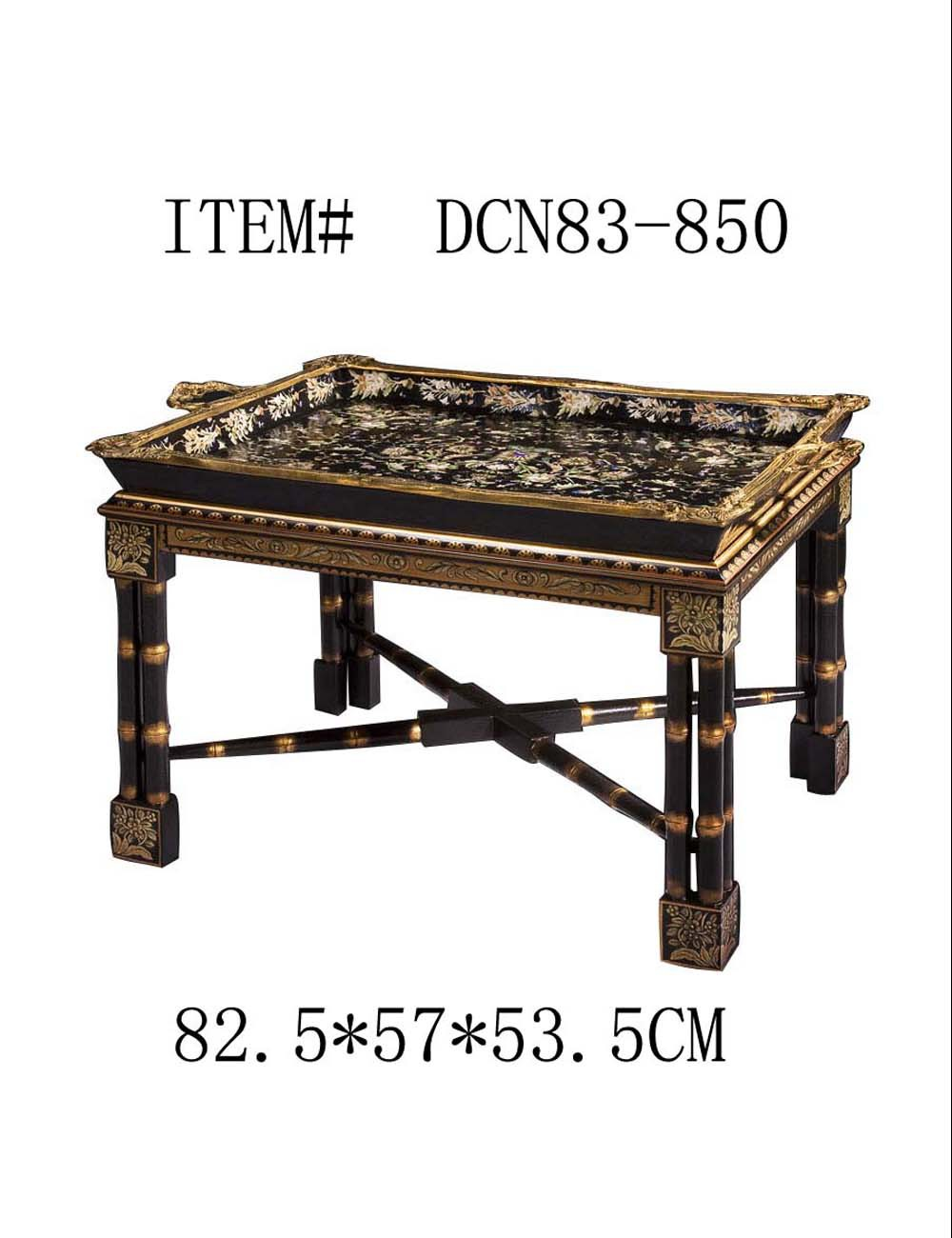 European Style Antique Porcelain Decorative Table Luxury Ceramic Coffee Table
