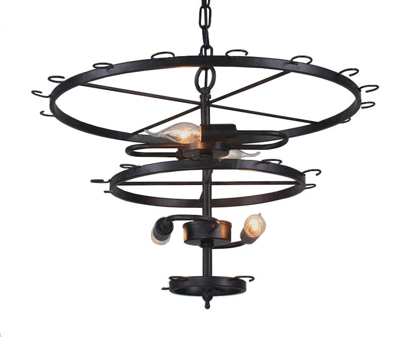 Art Deco Goblet Pendant Light Lamp Retro Red Wine Goblet Pendant lights Hanging Lamp For Hotel Bar Restaurant Glass Lamp Bracket (4)