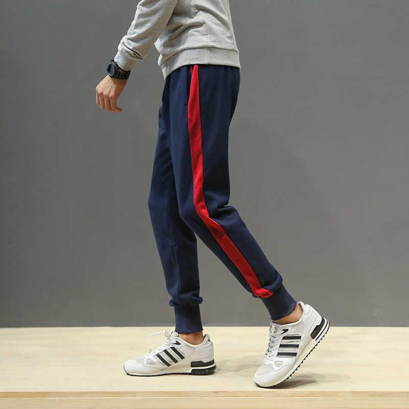 67257f7a ... Новое поступление, мужские спортивные штаны для мальчиков, коллекция  2018 года, Модные свободные штаны ...