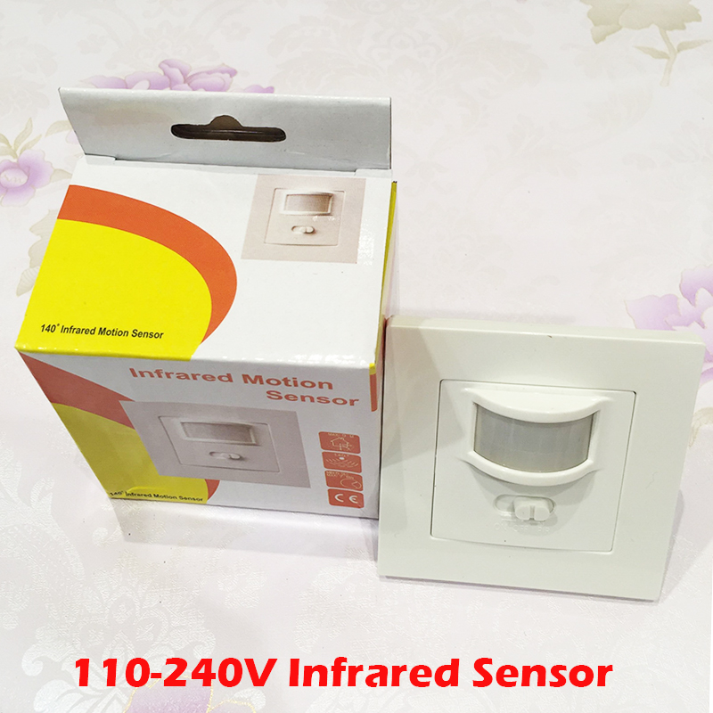 140 Degree 9M Automatic Adjustable Security Infrared Motion Sensor Switch 110V-220V PIR Detector Wall Mount Light Lamp YY about 180 degree 12m led automatic adjustable security infrared motion sensor switch pir detector wall mount outdoor light lamp