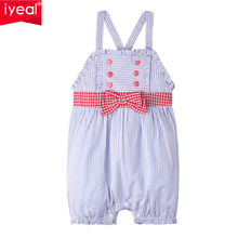 IYEAL Baby Girl Rompers Summer Fashion Cotton Striped Strap Jumpsuits Newborn Clothes Infant Outfits Roupas de Bebes