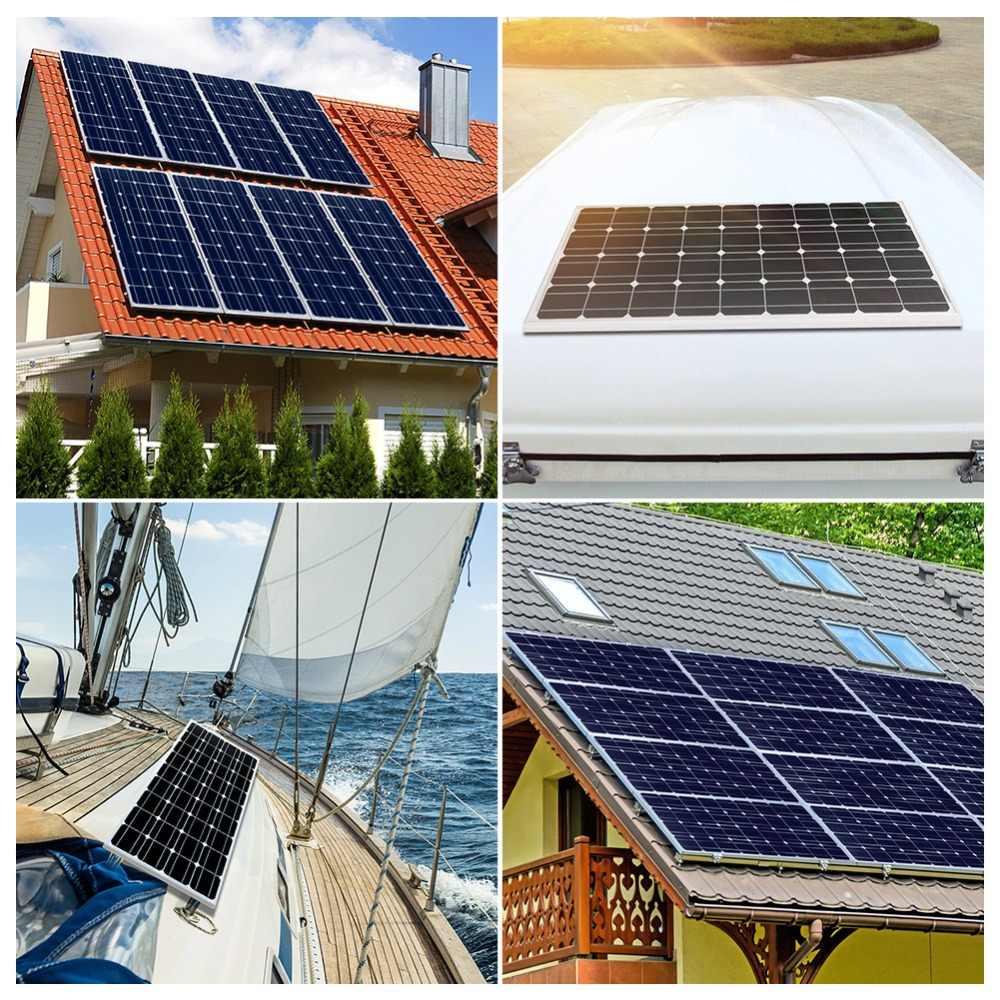 Dokio Marke Solar Panel China 100W Monokristalline Silicon 18V celulas solares silicio Top qualität Solar batterie solar ladegerät