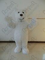 Polar Bear маскарадный костюм длинный белый меховой Polar Bear костюмы Лучшая цена