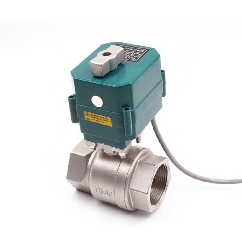 Hot Sale] DN25 I inch stainless steel Motorized Ball Valve