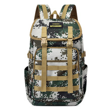Outdoor Camping Hiking Climbing Bags Military Tactical Backpack Camouflage Oxford cloth Trekking Sports Bags 30L Rucksack