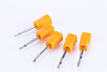 купить 1pc 3.175mm One Flute Spiral Router Bits for Wood fresa CNC End Mill Tungsten Carbide Router Tool PCB Milling Cutter дешево