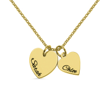 Personalized 925 Sterling Silver Necklace In Gold Color Mothers Jewelry Day Necklaces For Gift