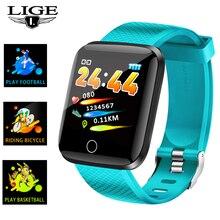 Get more info on the LIGE New Smart Watch Women Heart Rate Blood Pressure Monitoring Sport Fitness Tracker Smart Bracelet Band Pulseira inteligente