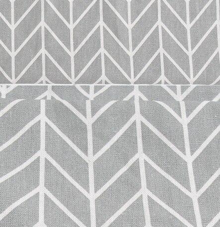 grau pfeil geometrie mittelmeer baumwolle faseroberfl che vorhang leinen in grau pfeil geometrie. Black Bedroom Furniture Sets. Home Design Ideas