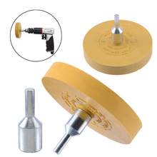 Sticker Rubber Eraser Wheel Removal Pinstripe Decal Attachment For Power Drill Accessory 88mm/3.5inch Hot