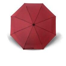 Automatic folding umbrella creative business men and women  womens rain 8 Ribs female gear paraguas