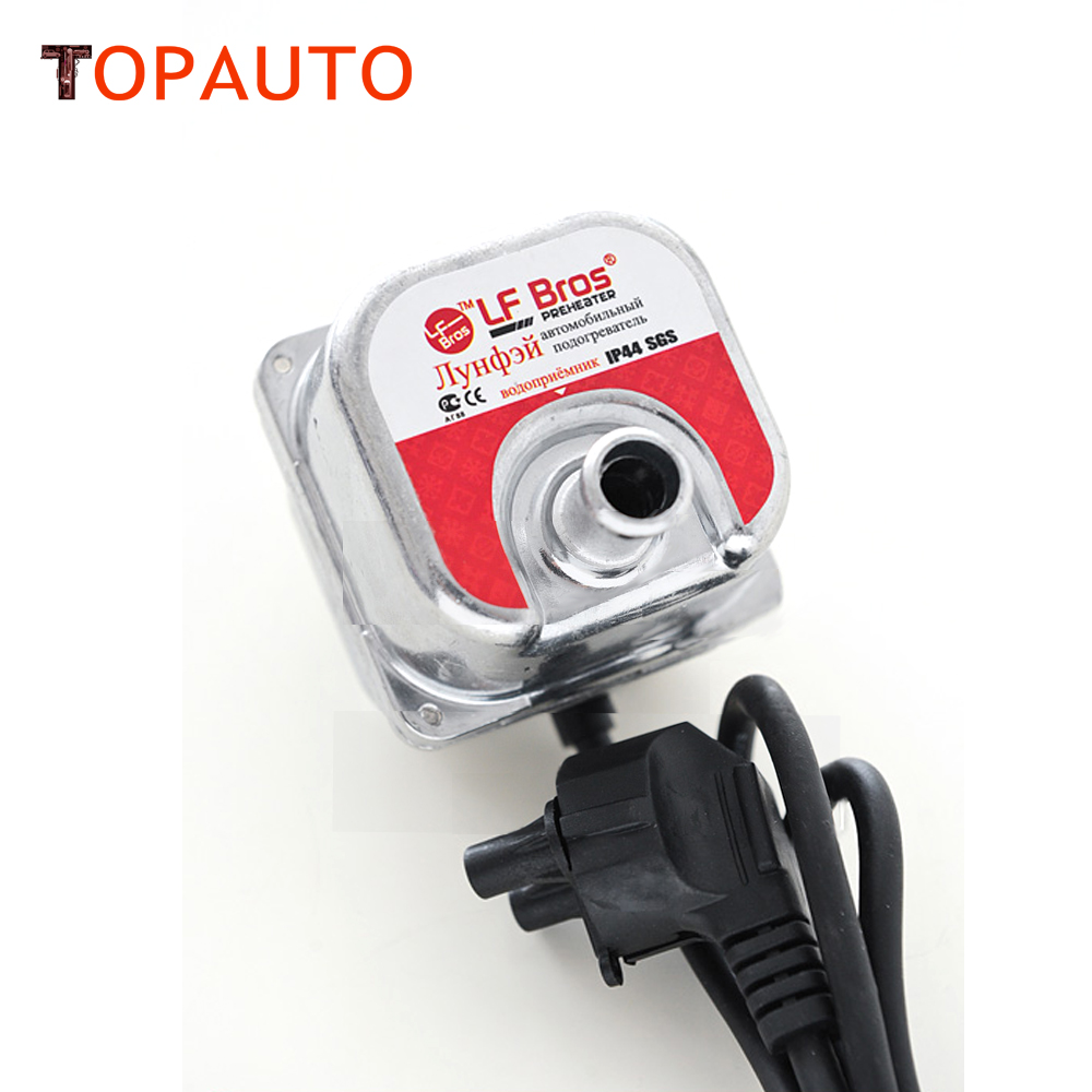TopAuto 220v 1500W Auto Car Engine Coolant Preheater Smart Heating Motor Engine Heater Water Tank  Factory Direct Price hot sales aliexpress no 1 12v 75w diesel oil water separator heater diesel engine preheater