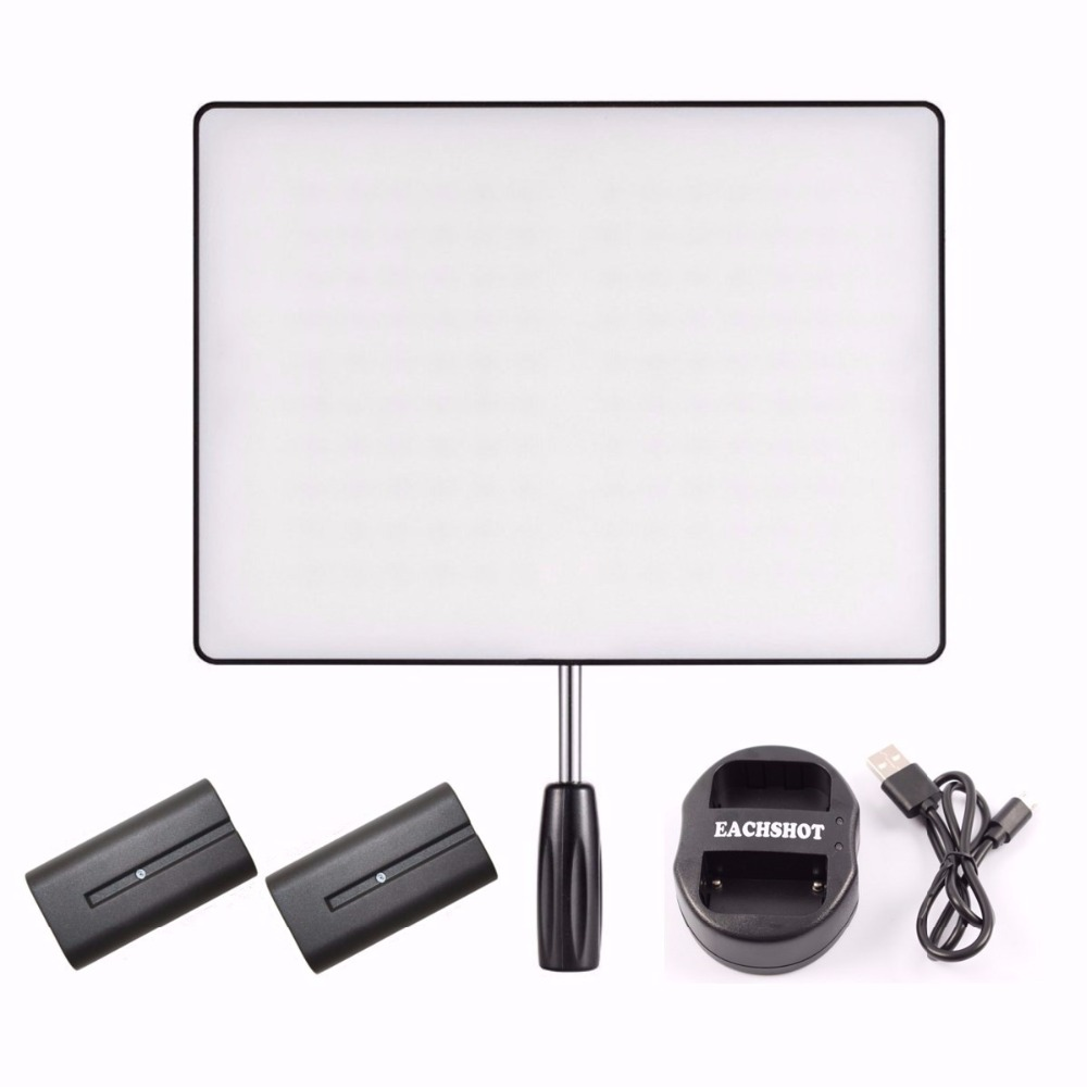 YONGNUO <font><b>YN600</b></font> YN-600 <font><b>Air</b></font> Kit LED Video Light Photo Dimmer 3200K-5500K With Battery for Dslr Camera Studio Photography Lighting image
