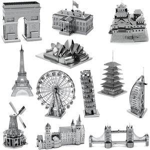 Architecture 3D Metal Puzzles