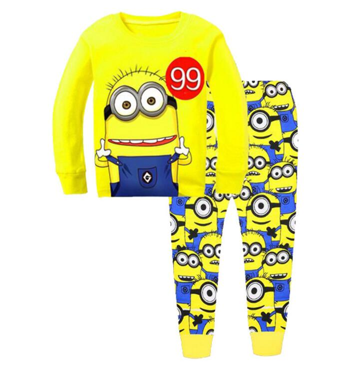 Baby boy Clothes Children Clothes Sets Baby Girls Sleepwear Long Sleeve Leisure Wear Kids Pajamas suit 2 7 years children boys girls christmas pajamas sets children clothing cotton kids long sleeve santa pyjamas for baby sleepwear