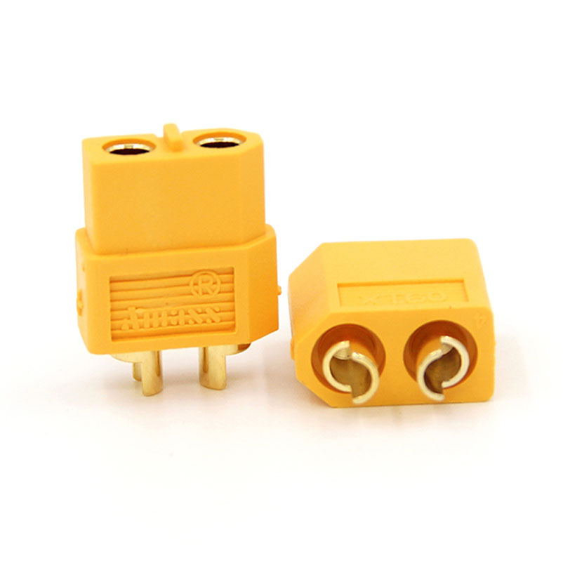 Brand New XT60 Plug Connectors 80A Aeromodelling Car Boat Model Connector Connecting Line Gold Plated Battery