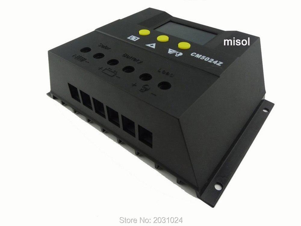 Solar regulator LCD ,50A,12/24v Solar Charge Controller PWM LCD 50a 12 24v solar regulator charge controller lcd screen solar controller new