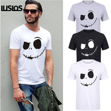 LUS LOS  Mens Fashion 2019 Short Sleeve Tee Plus Size Hot Sale Printing Homme Fitness Tops Summer Style T-shirt